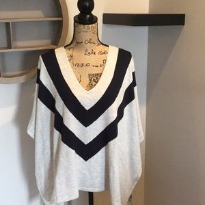 TOMMY HILFIGER sweater poncho ~ Size S/M